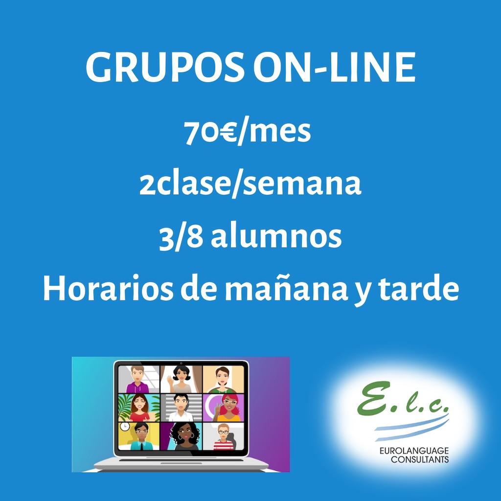 Cursos y clases de inglés en Madrid online. Grupos para todos los niveles, para niños, estudiantes, adultos y profesionales.