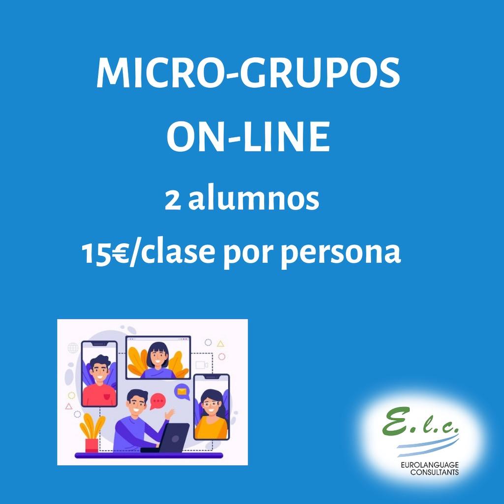 Cursos y clases de inglés en Madrid online para grupos reducidos. Clases de inglés específico para todas las edades.