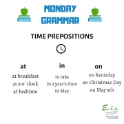 Consejos de gramática en inglés de tu academia de inglés de referencia en Madrid, Eurolanguage Consultants.